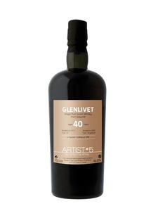 Fles - Whisky - Glenlivet - over 40y - 5th Edition - o,7l - 46,8%