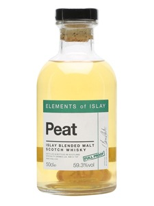 Fles - Whisky - Elements of Islay - Peat - Blend - 0,5l - 59,3%