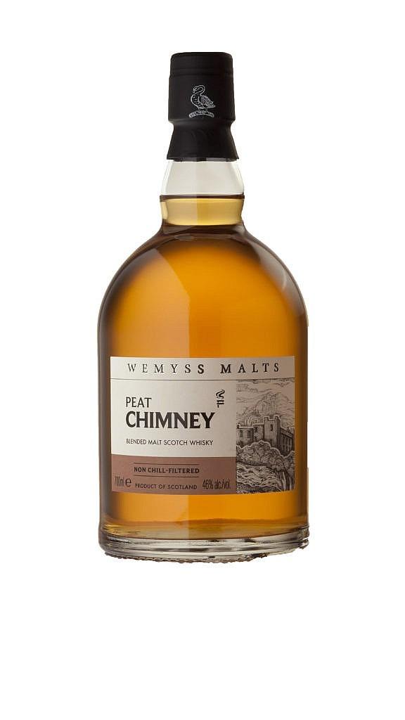 Fles - Whisky - Wemyss Malts - Peat Chimney Blended Malt - 0,7l - 46%