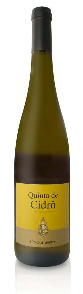 Fles - Wijnen - Portugal - Quinta de Cidro - Gewurztraminer - 0,75l - 13,5%