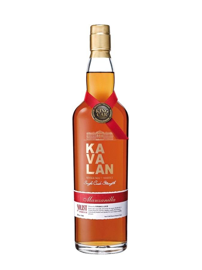 Fles - Whisky - Kavalan - Taiwan - Solist -Manzanilla - 0,7l - 57,8%