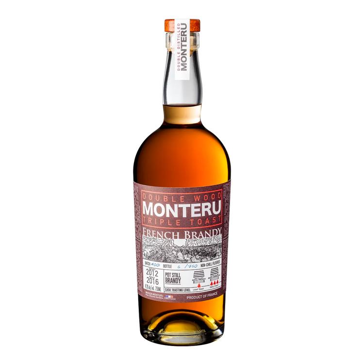 Fles - Brandy - Monteru - Pot Still - Brandy Triple Toast Finish - 0,70l - 41,3%
