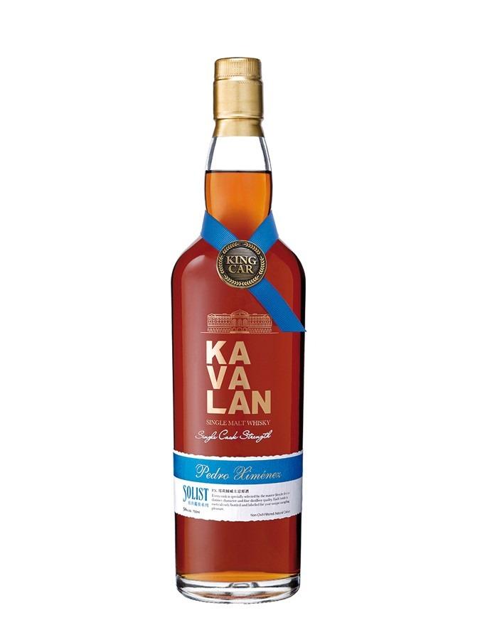 Fles - Whisky - Kavalan - Taiwan - Solist - Pedro Ximenez - 0,7l - 56,3%