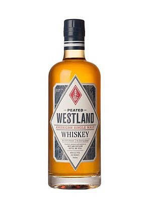Fles - Whisky - Westland American Single Malt Peated - 0,7l - 46%