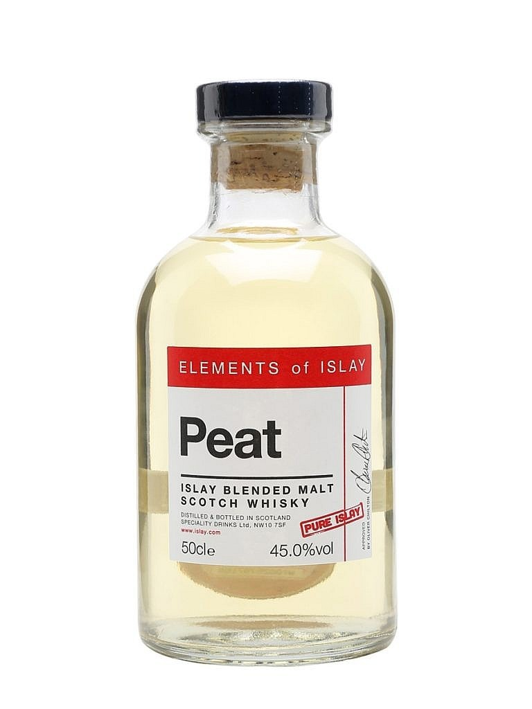 Fles - Whisky - Elements of Islay - Peat - Pure Islay Blended Malt - 0,5l - 45%