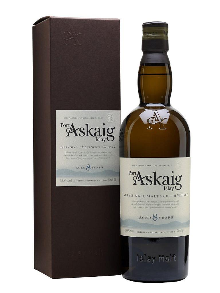 Fles - Whisky - Port Askaig - 8yrs - Islay - 0,7l - 45,8%