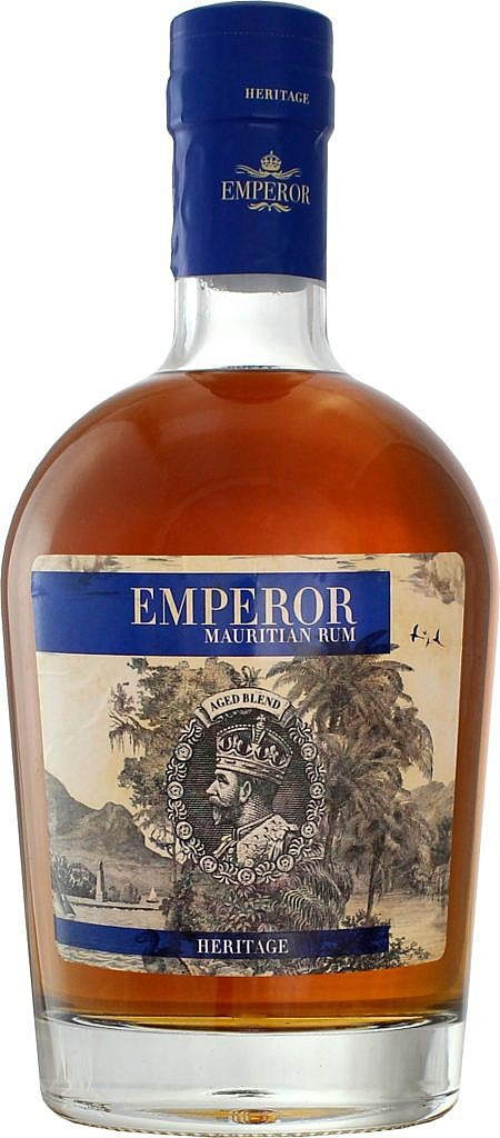 Fles - Rum - Dugas - Emperor Heritage - Mauritius - 0,7l - 40%