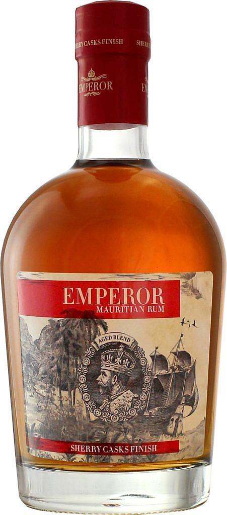 Fles - Rum - Dugas - Emperor Sherry FInish - Mauritius - 0,7l - 40%