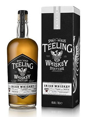 Fles & Case - Whisky - Teeling - Stout Cask - 0,7l - 46%
