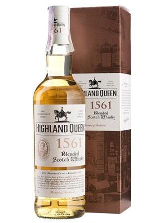 Fles & Case - Whisky - Highland Queen - 1561 Blend - 1,5l - 40%