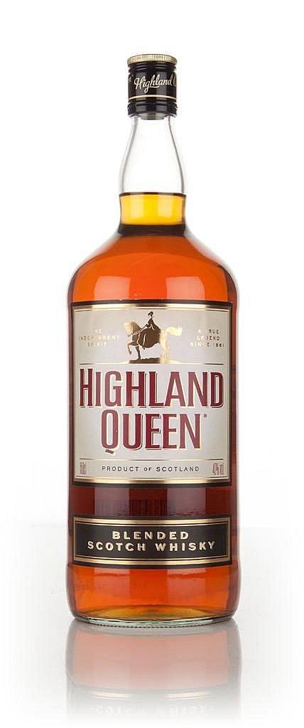 Fles - Whisky - Highland Queen - Queen Blend - 8 yrs - 1,5l - 40%