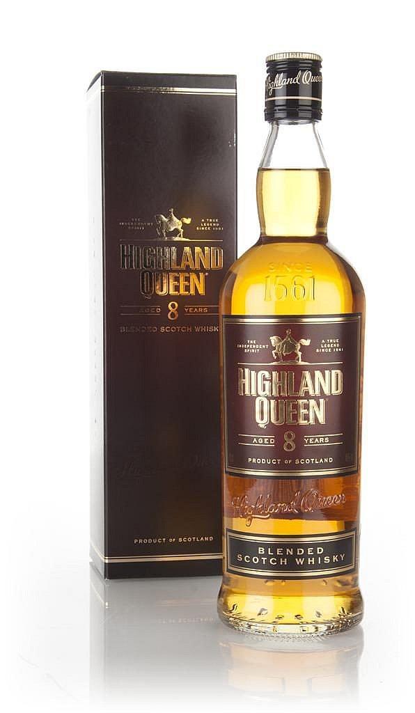 Fles - Whisky - Highland Queen - Queen Blend - 8 yrs - 0,7l - 40%