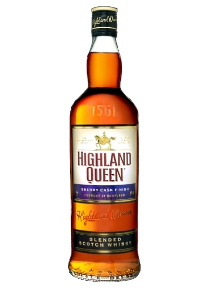 Fles - Whisky - Highland Queen - Blend Sherrywood - 0,7l - 40%