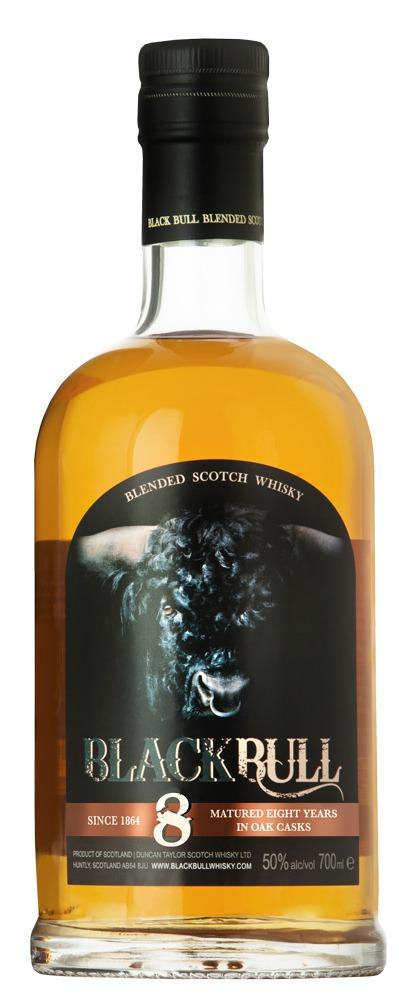 Fles - Whisky - Black Bull - 8 yrs - 0,7l - 50%