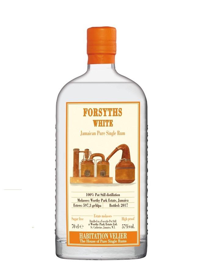 Fles - Rum - Velier - WP Forsyths White - Jamaican - 2017 - 0,7l - 57%%