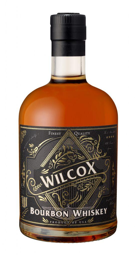 Fles - Whiskey - Amerika - BBC - Bourbon Whiskey - Wilcox - 40% - 0,7l