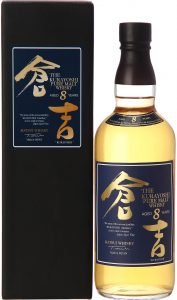Fles & Case - Whisky - Japan - Kurayoshi - 8yo Pure Malt - 43% - 0,7l