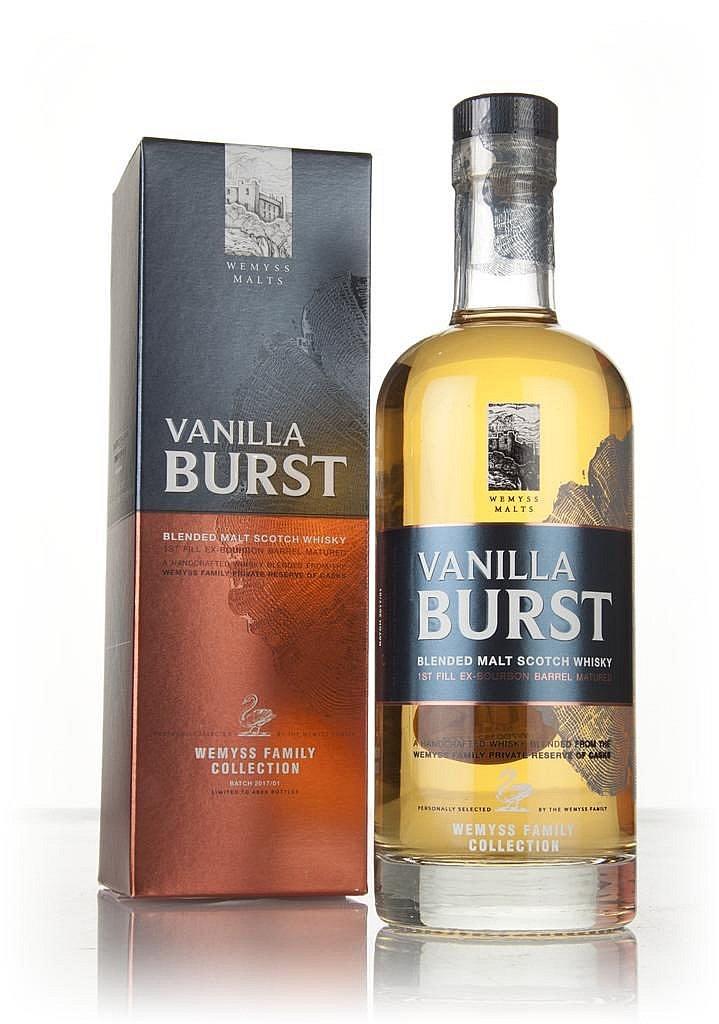 Fles & Case - Whisky - Wemyss Malts - Vanilla Burst Blended Malt - 0,7l - 46%