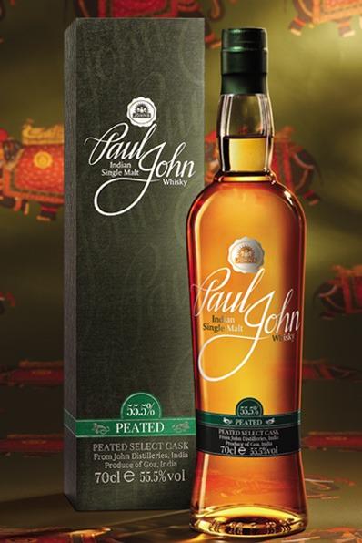 Fles - Whisky- Paul John - India - Peated Select Cask - 0,7l - 55,5%