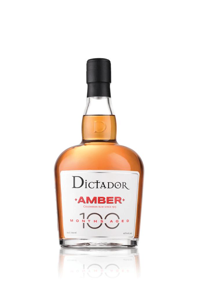 Fles - Rum - Dictador - Amber - 100 maanden - 0,7l - 40%
