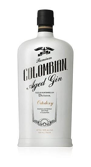Fles - Gin- Dictador - Ortodoxy - Aged in Rum Barrels - 0,7l - 43%