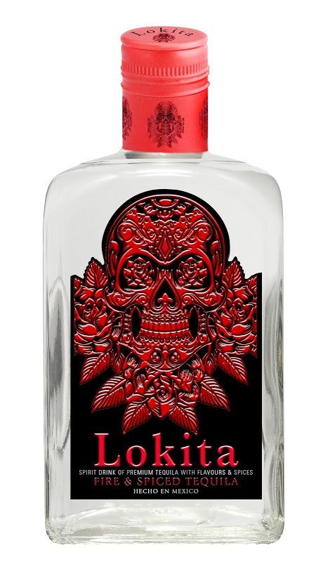 Fles - Tequila - Lokita Fire & Spiced Tequila - 0,7l - 38%