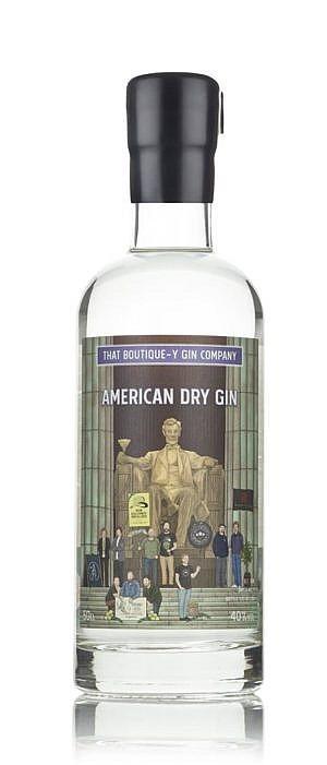 Fles - Gin - That Boutique-y Gin Company - DC Gin - Batch 1 - 0,5l - 40%
