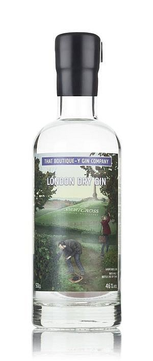 Fles - Gin - That Boutique-y Gin Company - Estate - Foraged Gin - Shortcross - 0,5l - 46%