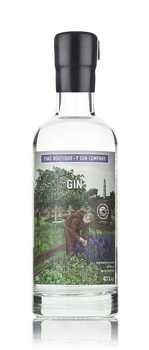 Fles - Gin - That Boutique-y Gin Company - Monastic Gin - Blackwater - 0,5l - 40%