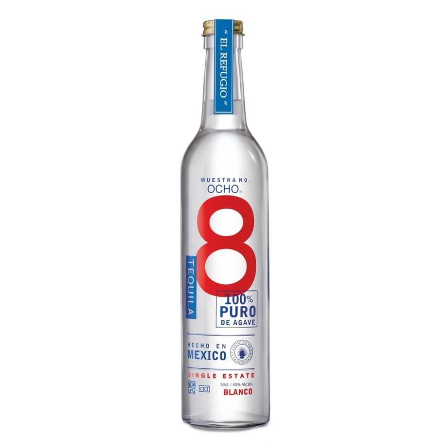 Fles - Tequila - Ocho Blanco - 0,5l - 40%