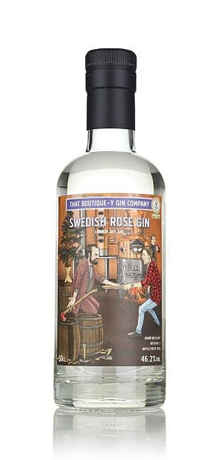 Fles - Gin - That Boutique-y Gin Company - Swedish Rose Gin - Herno - 0,5l - 46,2%