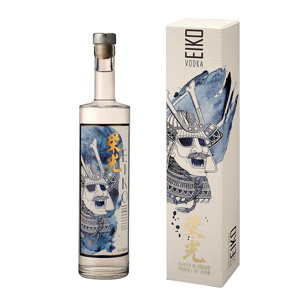 Fles & Case - Vodka Eiko Japan - 0,7l - 40%