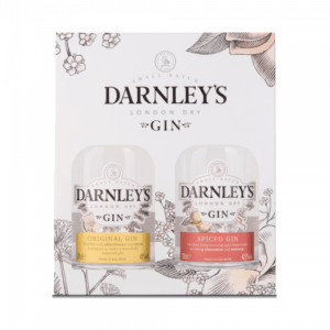 2xFles Giftpack - Gin - Darnley's - Giftpack - 2x0,2l - 41,3%