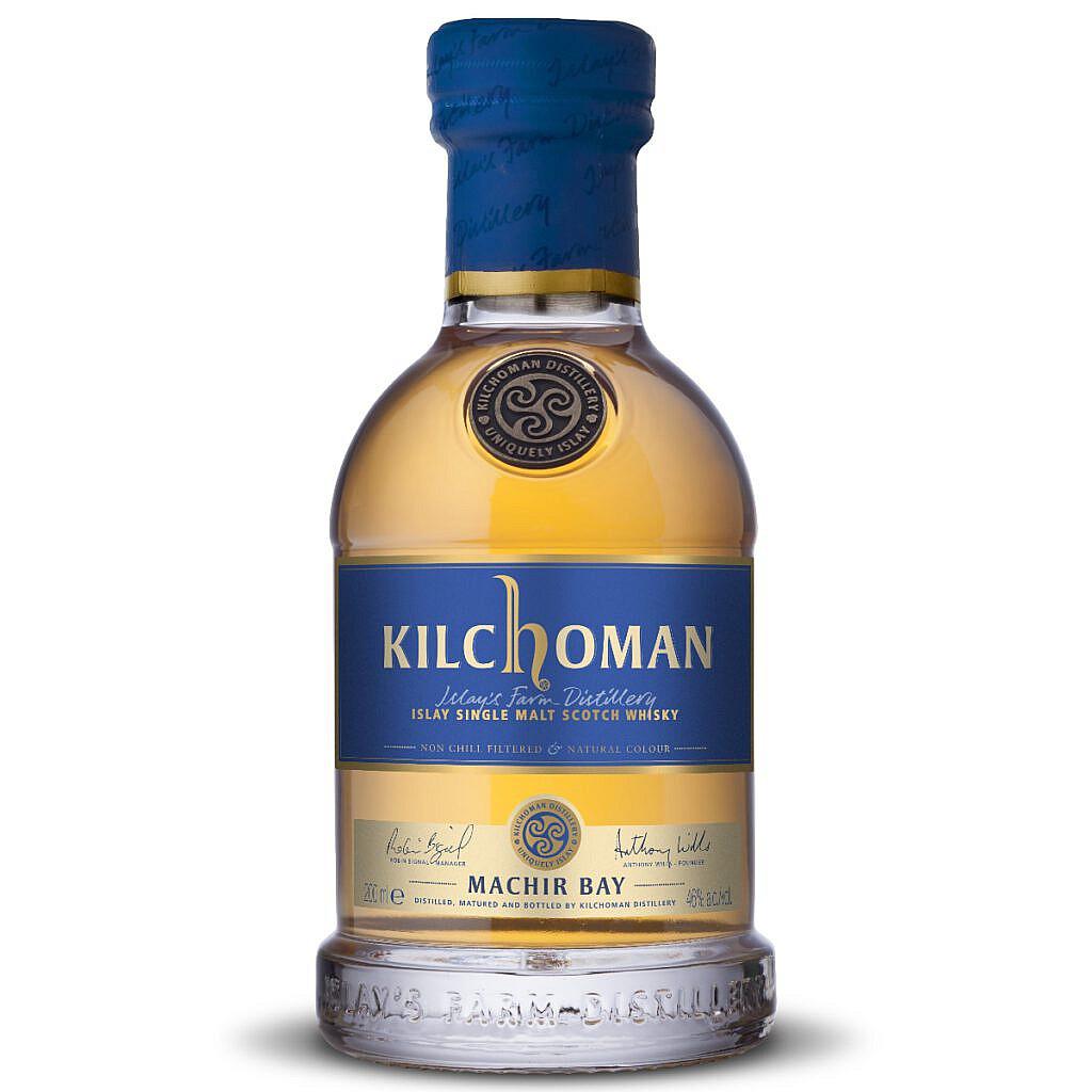 Fles - Whisky - Kilchoman - Machir Bay Islay - 0,2l - 46%