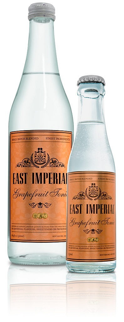 24 Flessen - Tonic - East Imperial - Grapefruit - 24 x 0,15l