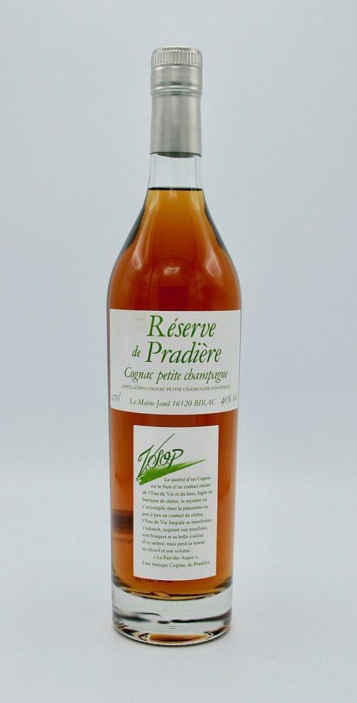 Fles - Cognac - De Pradiere - VSOP - Petite Champagne - 0,7l - 40%