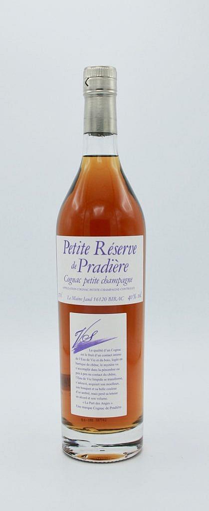 Fles - Cognac - De Pradiere - VS - Petite Champagne - 0,7l - 40%