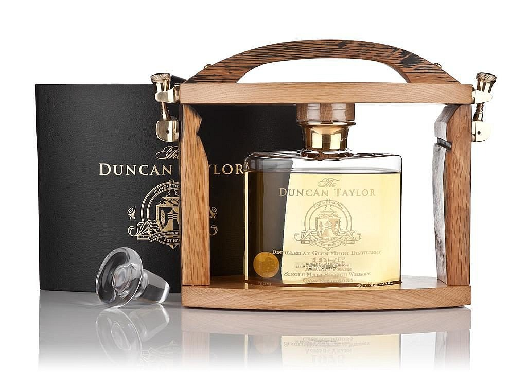 Fles - Whisky - Duncan Taylor - Tantalus Glen Mohr 34 jaar - 1975- 0,75 - 43,7%
