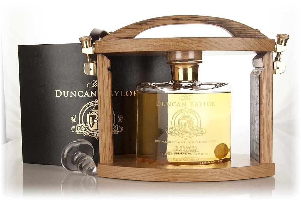 Fles - Whisky - Duncan Taylor - Tantalus Glenrothes 43 jaar - 1970 - 0,7 - 41,5
