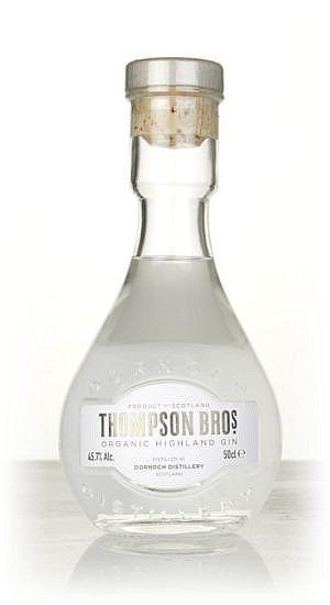 Fles - Gin - Dornoch Distillery - Thompson Bros. Organic Highland Gin - 0,5l - 45,7%