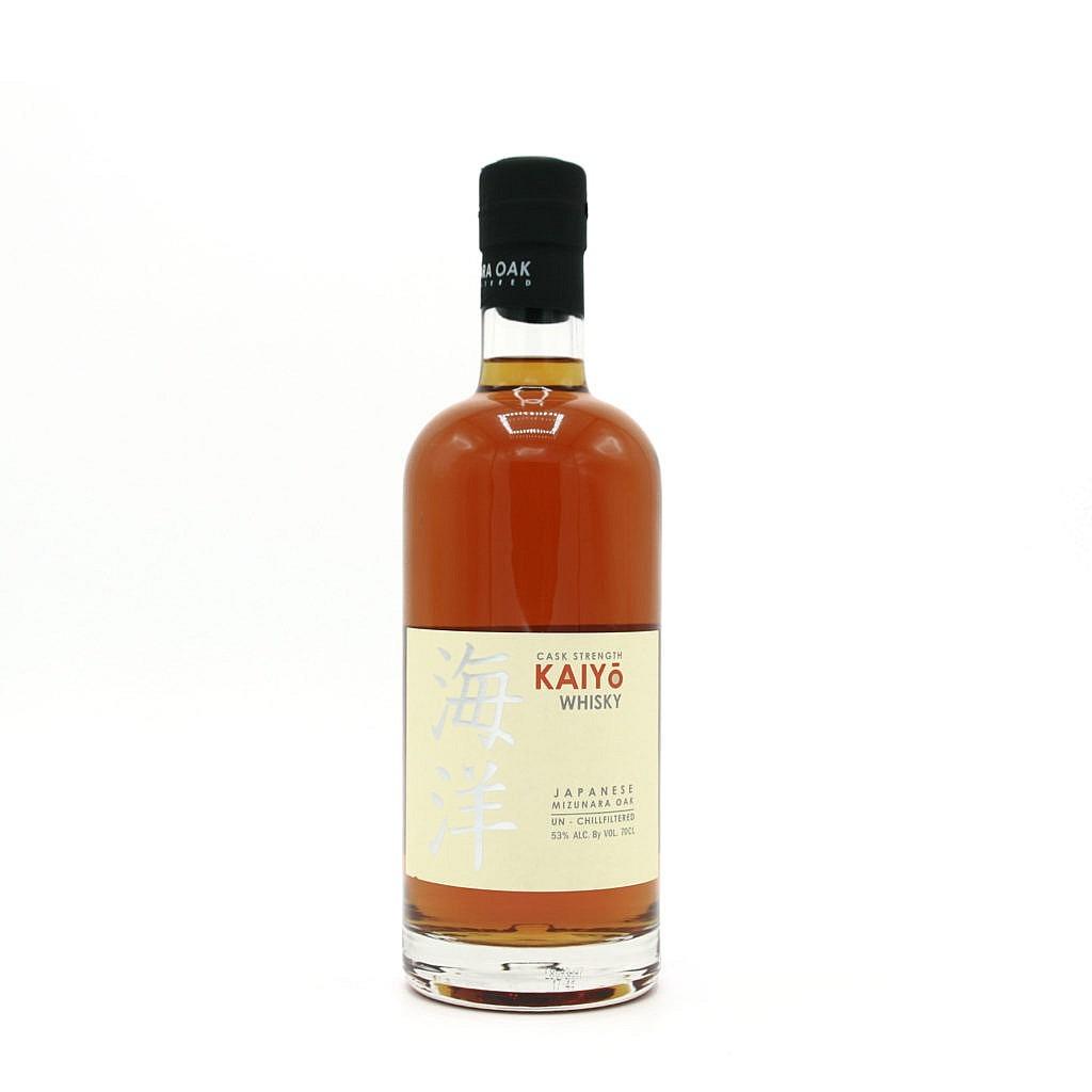 Fles - Whisky - Kaiyo - Japan - Mizunara Casks CS - 0,7l - 53%