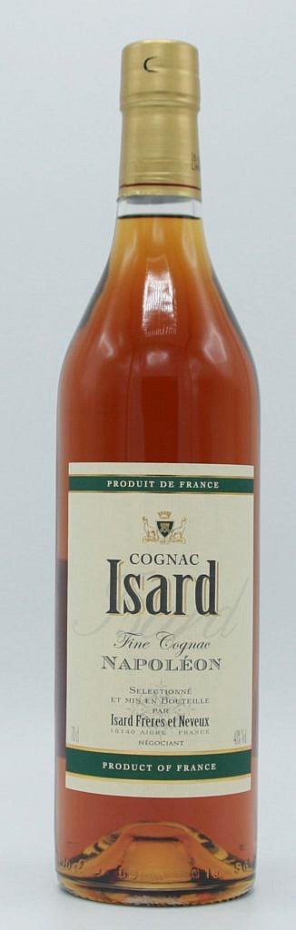 Fles - Cognac - Isard - Napoleon - 0,7l - 40%