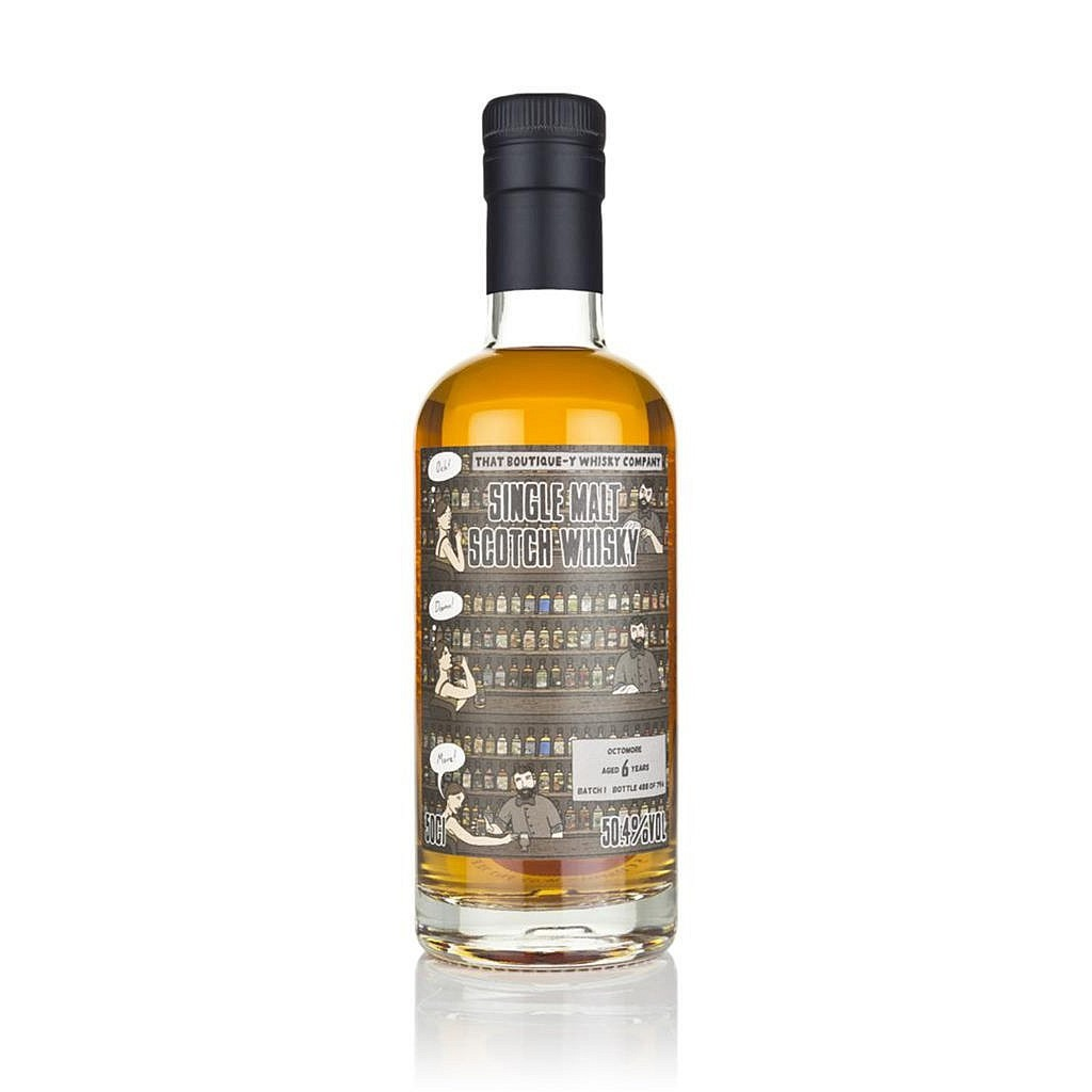 Fles - Whisky - That Boutique-y Whisky Company - Octomore - 6 y - batch 1 - 0,5l - 50,4
