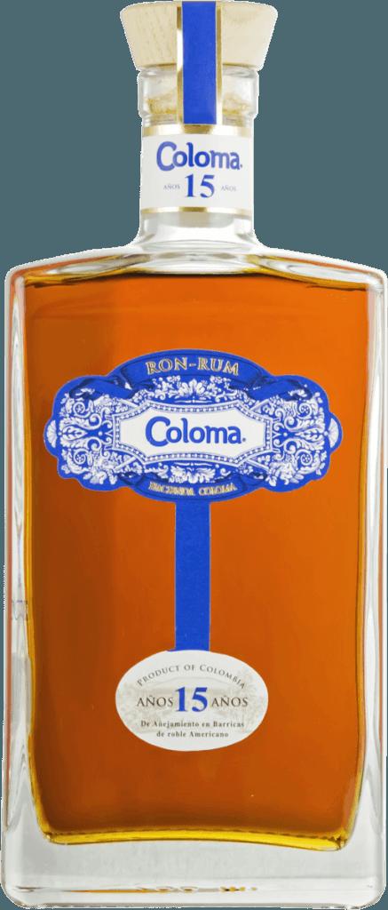Fles - Rum - Colombia - Dugas - Coloma - 15y - 0,7l - 40%