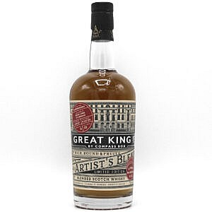 Fles - Whisky - Compass Box - Great King Street - Marrying Cask - 0,7l - 49%
