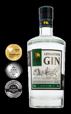 Fles - Gin - Milk & Honey - Levantine - 0,7l - 46% - awards