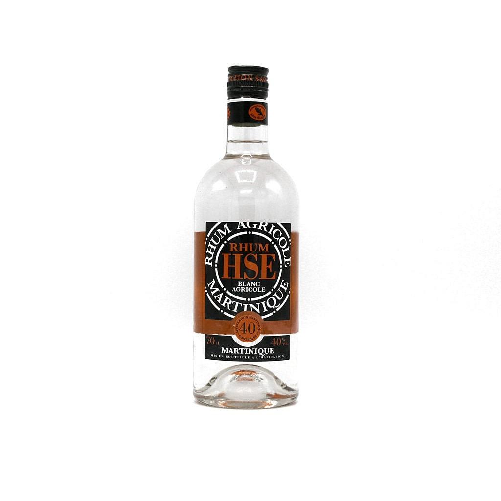Fles - Rum - Habitation Saint Etienne - Blanc - 0,7l - 40%