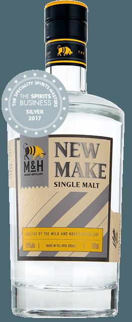Fles - Whisky - Milk&Honey - New Make - 0,70 - 40%
