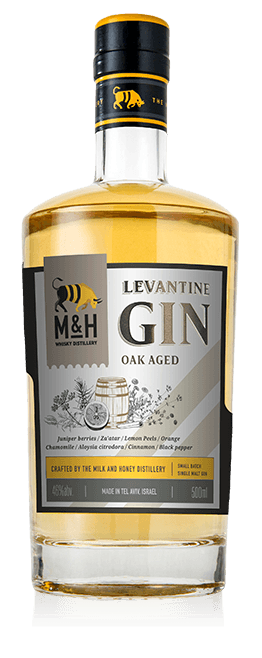 Fles - Whisky - Milk&Honey - Levantine Gin Oak Aged - 0,70 - 40%