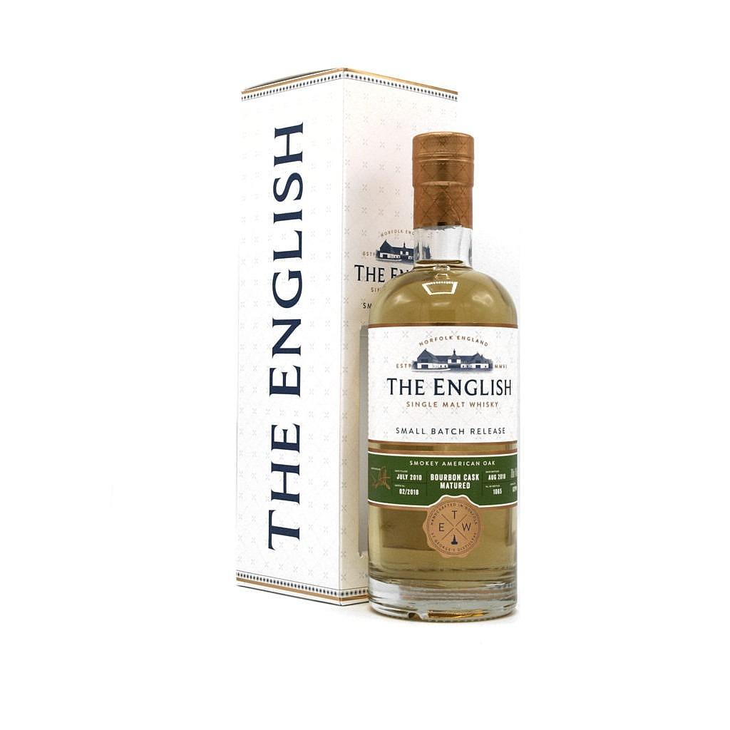Fles & Case - Whisky - The English Whisky Company - SB - Heavily Peated - 8y - 0,7l - 46%
